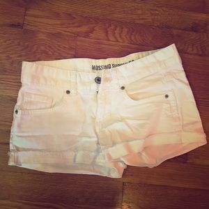 Mossimo Supply Co. white jean shorts - Size 9